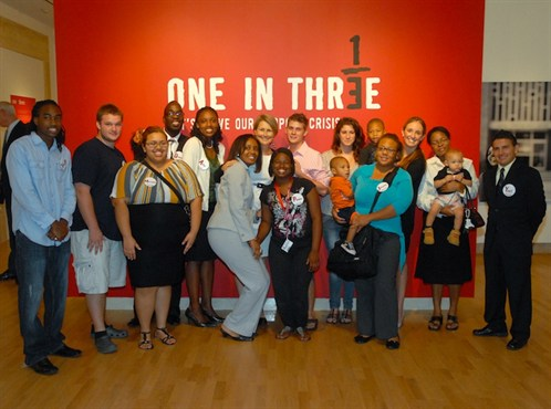 Opening event for ONE in THREE a huge success